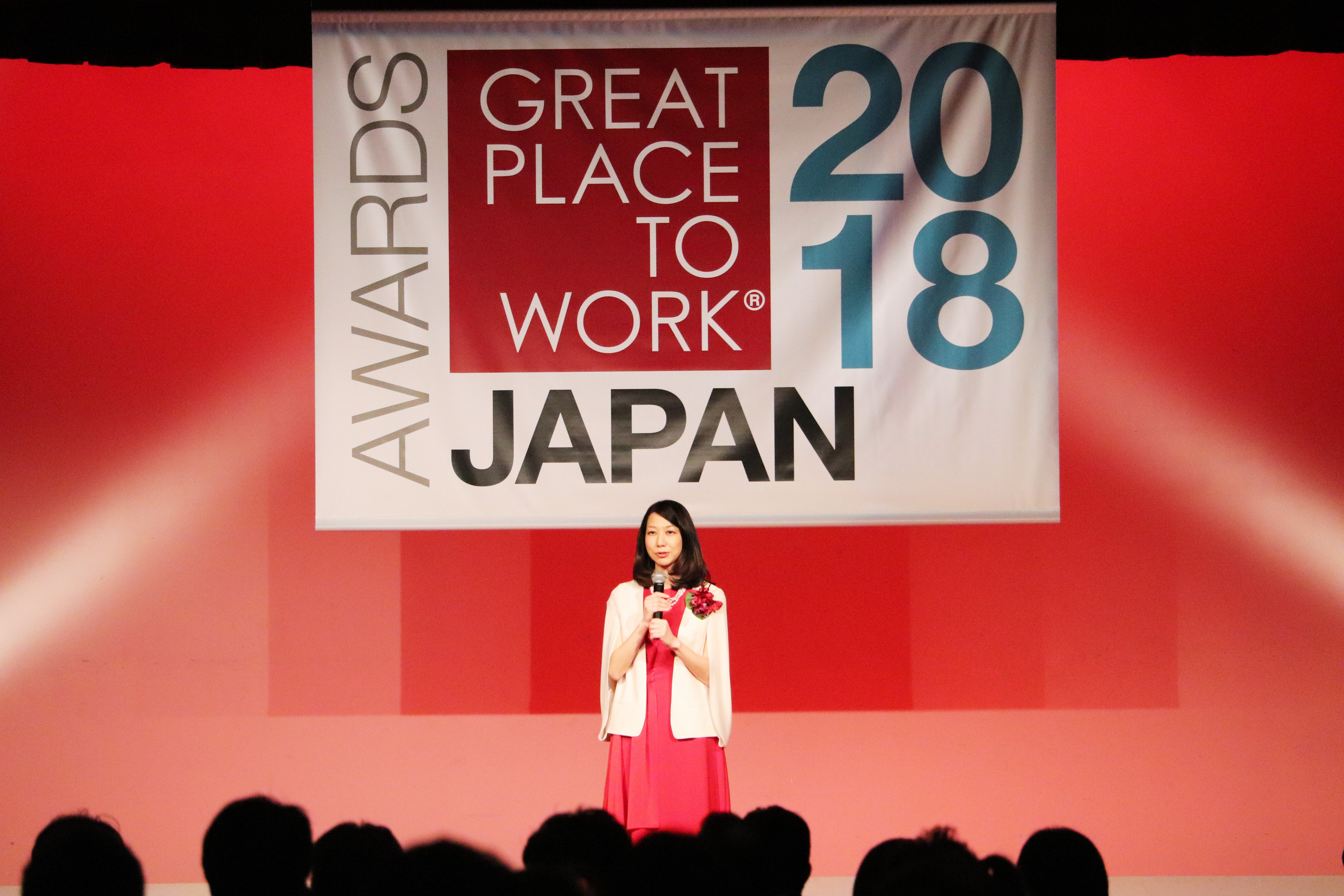Great Place to Work®Institute Japan代表の岡本さんによる挨拶