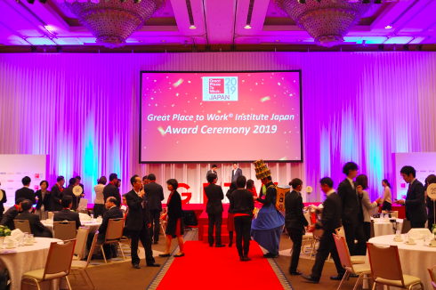 Institute Japan Award Ceremony 2019